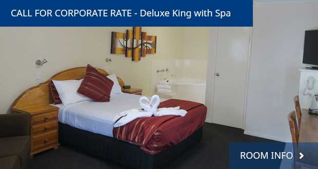 Deluxe King Room With Spa